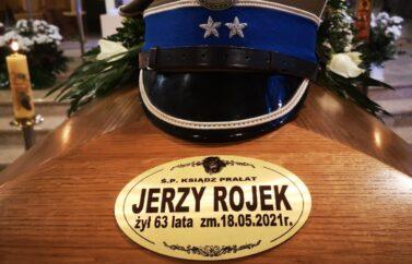 Uroczystości pogrzebowe ks.prał. dra Jerzego Rojka