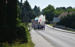 Powitanie pielgrzymów grupy św.Urszuli